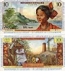French Antilles bank note - click to enlarge